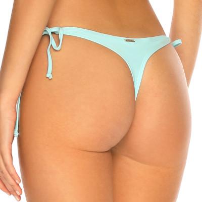 Pastelově modré šněrovací tanga plavky RELLECIGA Pastels