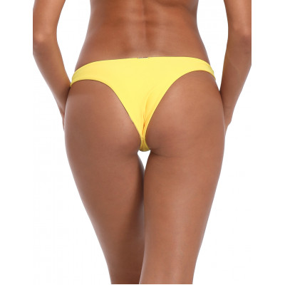 Žluté brazilkové plavkové kalhotky RELLECIGA