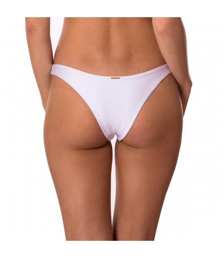 Bílé brazilkové plavkové kalhotky RELLECIGA