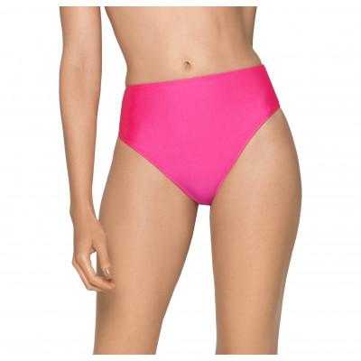 Neónovoružové plavky s vysokým pasem RELLECIGA Neon | spodní díl
