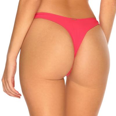 Melounově růžová high-waist tanga plavky RELLECIGA