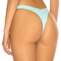 Pastelově modré high-waist tanga plavky RELLECIGA Pastels