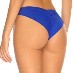 Královsky modré brazilkové plavky s řasením RELLECIGA Royal Blue